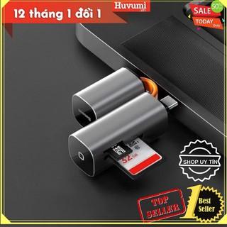 [Chính Hãng - Sẵn] Đầu đọc thẻ nhớ đa năng cổng giao tiếp USB/ Type C Baseus Mini Cabin Card Reader-LV688
