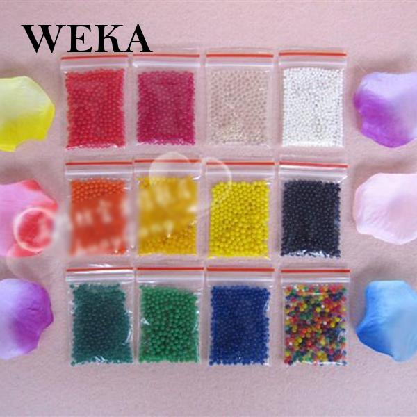 Multicolor Water Beads Magic Crystal Mud Soil for Planting Flower Excellent