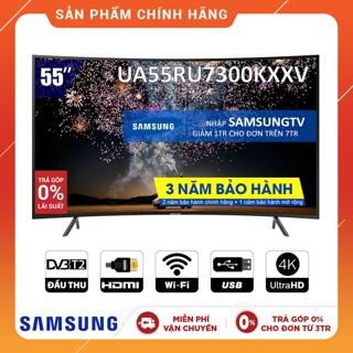 Hình ảnh [Nhập SAMSUNGTV Giảm 1TR] Smart Tivi Samsung 4K 55 inch UA55RU7300KXXV-0
