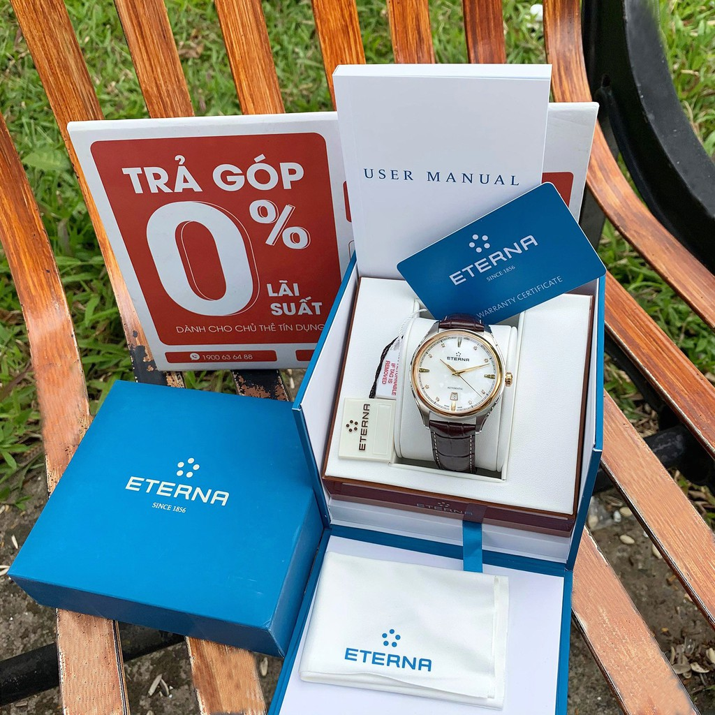 Đồng hồ Nam Eterna Avant Garde diamond automatic 2945.53.66.1260  [ Chính hãng ]
