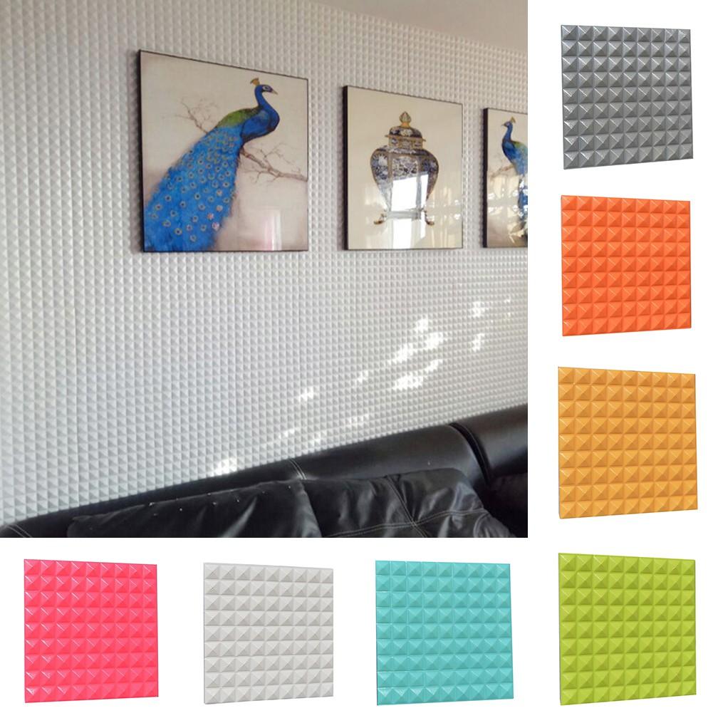 ↨COD↨PE Foam Elastic 3D PlateWallation Self-adhesion Stickers