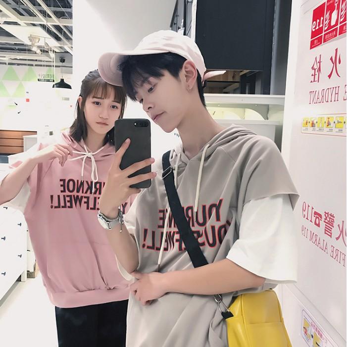 Áo T-Shirt lỏng tay Hàn Quốc – UN0010