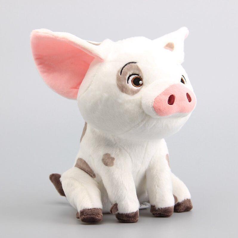 ★HZL-Cute Moana pet pig Pua Stuffed Plush doll 9″ Gift Soft Toy Plush Kids