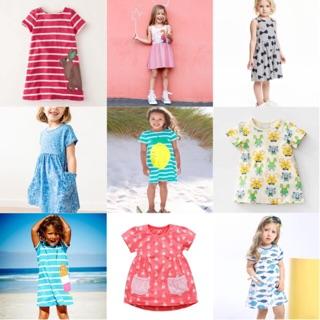 Váy cotton Little Maven (1-6Y)