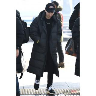 [CHUYÊN SỈ - LẺ ] Áo Khoác nam dáng dài có mũ Hàn Quốc, chống thấm đi tuyết tốt,áo rét đại hàn nam,áo choàng nam có mũ