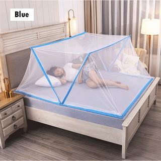 Yêu ThíchMàn lưới chống muỗi gấp gọn, không tháo lắp levika cao cấp giá rẻ, màn chụp tự bung tiện lợi, mùng lưới chống muỗi