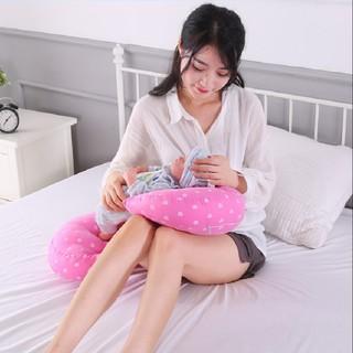 [LIKADO] Gối bầu, kích thước (70x22x40cm), vải 100% cotton, ruột bông nhân tạo (mẫu SƯ TỬ VÀNG) thumbnail