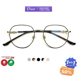 Gọng kính mắt tròn kim loại Elmee E61035 kiểu dáng sành điệu thumbnail