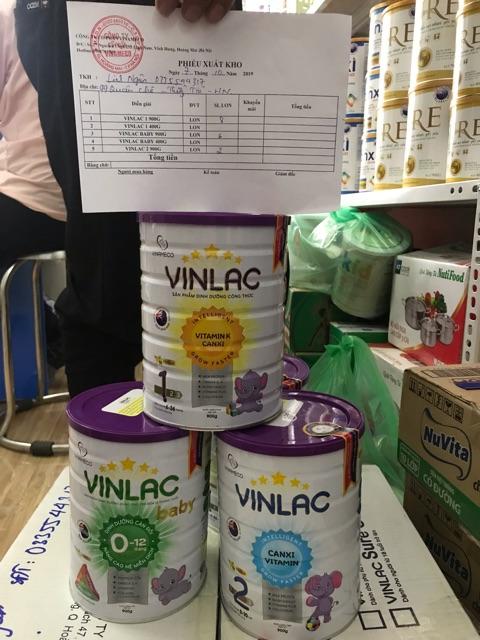 Sữa VINLAC SỐ 0, SỐ 1 hộp 900g (DATE 7/2023)