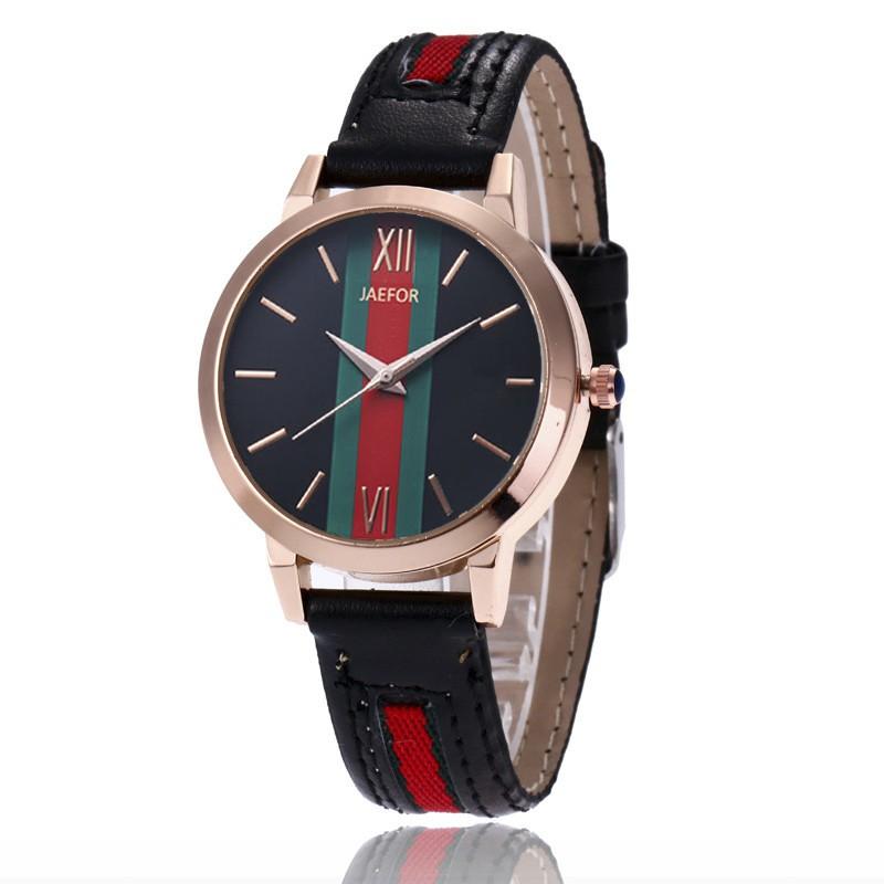 (GIÁ CỰC TỐT) Đồng hồ nữ JAEFOR phiên bản cờ Ý - Tặng kèm pin