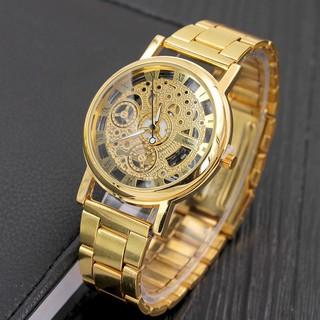 Đồng hồ nam kim loại lịch lãm DH102