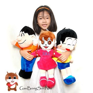 Combo gấu bông hoạt hình Nobita Suka Chaien đáng yêu