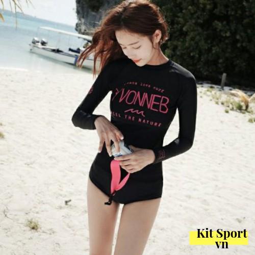 Bộ Đồ bơi đi tắm biển nữ Bikini 2 mảnh (Set Áo dài và quần lót) Vonneb - KIT Sport VN