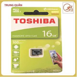 Thẻ nhớ Micro SD 16G Class 10 Toshiba chính hãng Full box