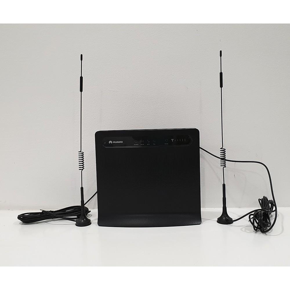 Anten thu sóng 3G/4G chuẩn TS9/SMA 15dBi thân 36cm cáp dài 3m