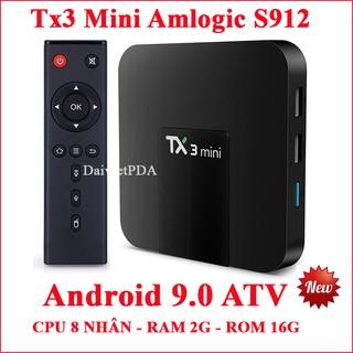 Yêu ThíchAndroid Tivi Box Tx3 Mini CPU amlogic S912 Android 9.0