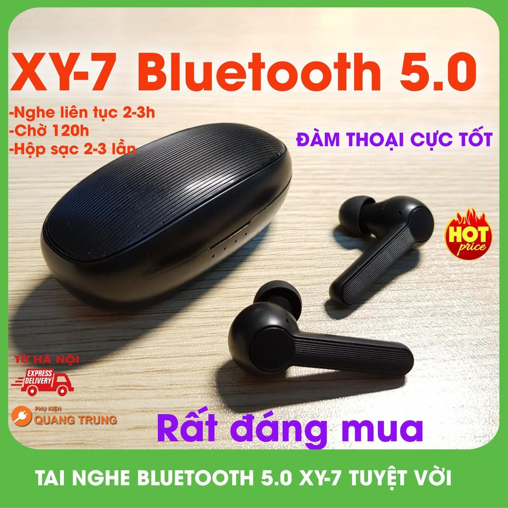 Tai nghe bluetooth 5.0 xy-7,siêu hot,giá rẻ,đàm thoại tốt,nghe nhạc hay