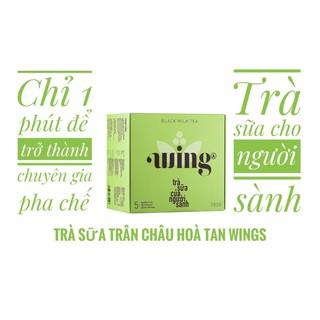 HỒNG TRÀ SỮA TRÂN CHÂU WINGS HỘP( 5set pha được 5 ly trà) pha theo hướng dẫn trong phần mô tả sp để có ly trà chuẩn vị