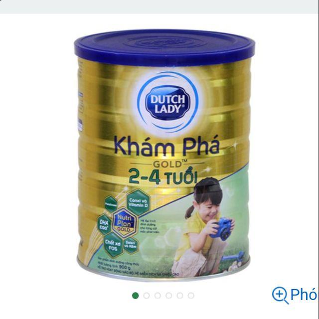 Sữa bột dutch lady Khám phá gold 900gram