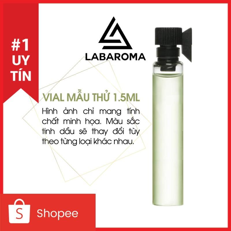 Tinh dầu nước hoa các hãng Designer mẫu thử 1.5ml  thơm phòng, khử mùi, tạo hương cho shop (Hàng nhập khẩu Anh)