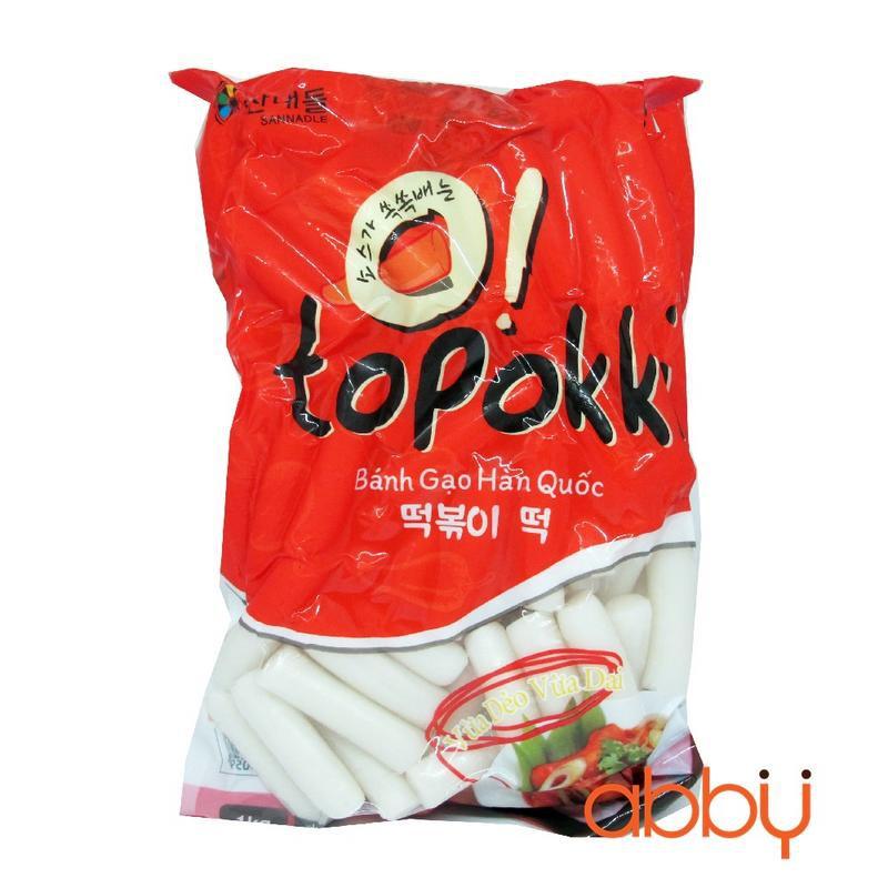 Bánh gạo xào cay Tokbokki Hàn Quốc 1kg - 14542823 , 1340814499 , 322_1340814499 , 95000 , Banh-gao-xao-cay-Tokbokki-Han-Quoc-1kg-322_1340814499 , shopee.vn , Bánh gạo xào cay Tokbokki Hàn Quốc 1kg
