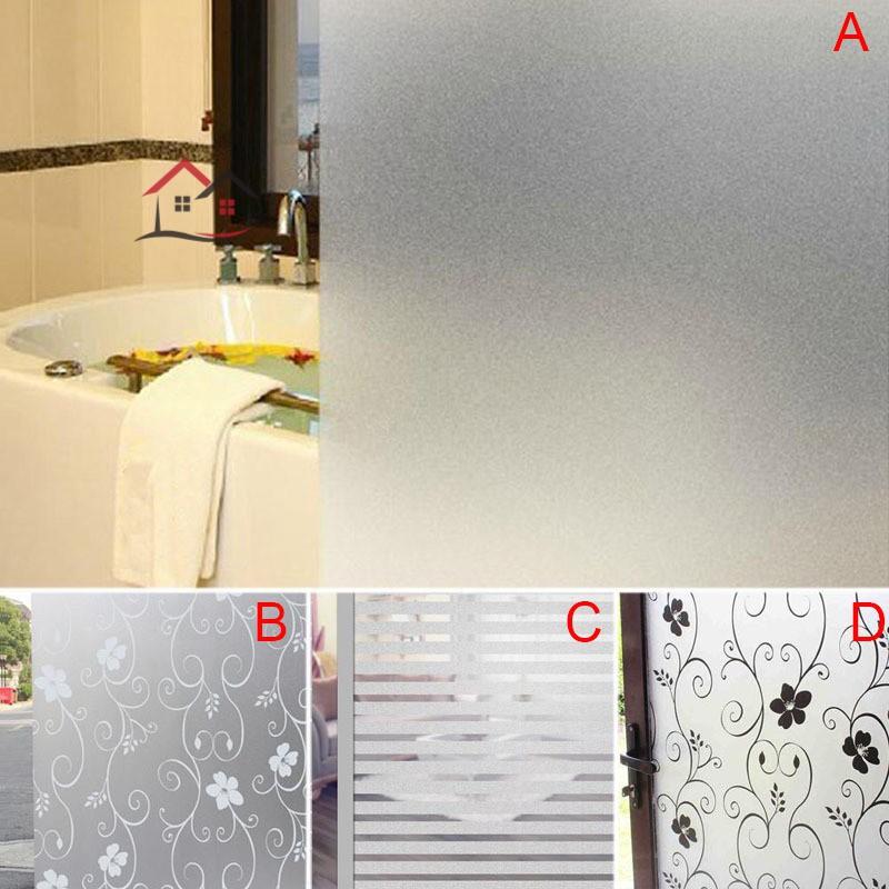 Giấy dán PVC làm mờ cửa kính bảo vệ riêng tư kích thước 200 x 60CM