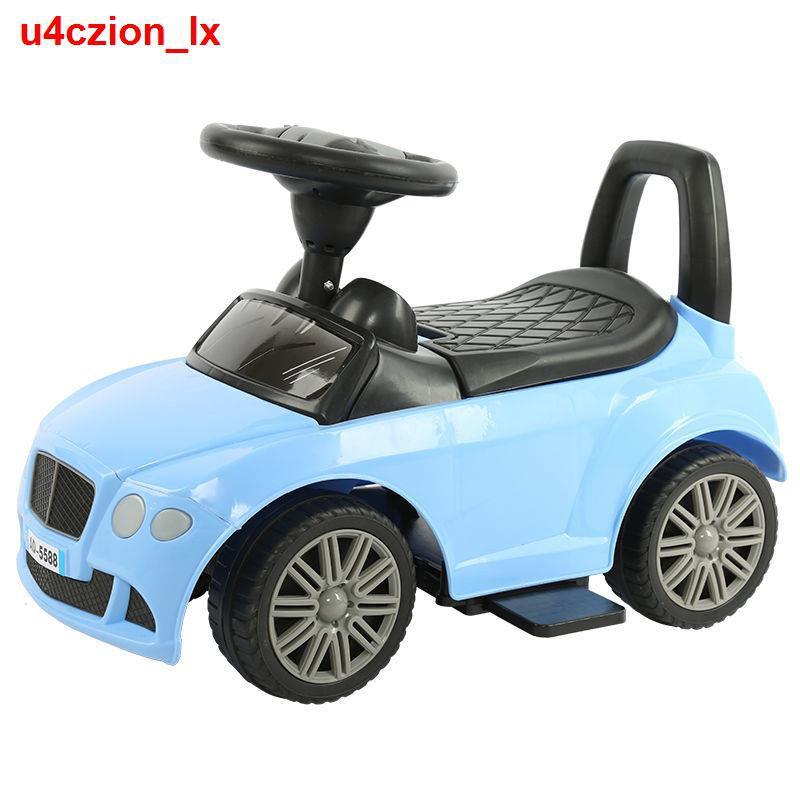 Kiểu trượt trẻ em mới Xe đẩy 1-3-5 tuổi có thể đi bốn bánh thăng bằng đồ chơi ô tô xích đu