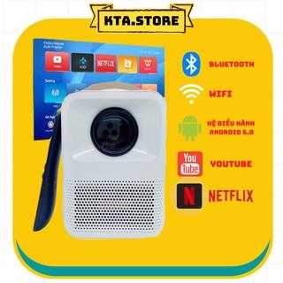 Máy Chiếu Mini BEECUBE Hệ Điều Hành Android + Kết nối Điện thoại + Full HD 1080 – Bảo Hành 12 Tháng