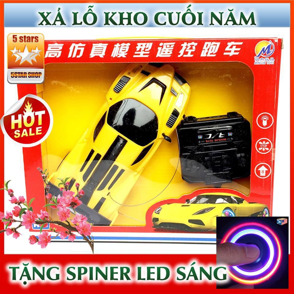 (QUÀ TẾT TẶNG BÉ) Siêu xe điều khiển từ xa GS05 : 4 kênh điều khiển + Tặng free spinner LED sáng