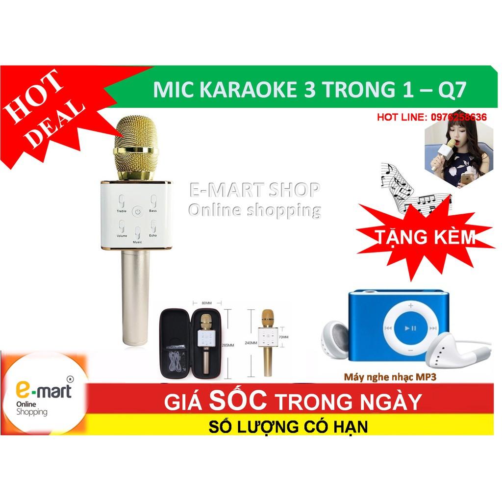 Mic KARAOKE Bluetooth Q7 kèm loa 3 trong 1 + Tặng máy nghe nhạc MP3, tiện lợi cho cả gia đìn - 3302952 , 396683192 , 322_396683192 , 245800 , Mic-KARAOKE-Bluetooth-Q7-kem-loa-3-trong-1-Tang-may-nghe-nhac-MP3-tien-loi-cho-ca-gia-din-322_396683192 , shopee.vn , Mic KARAOKE Bluetooth Q7 kèm loa 3 trong 1 + Tặng máy nghe nhạc MP3, tiện lợi c