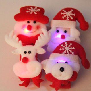 Vòng tay đập tay Noel phát sáng