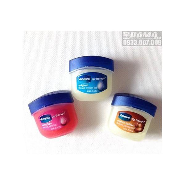 Son dưỡng hồng môi Vaseline Rosy Lips Therapy của Mỹ