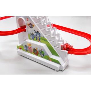 [ TOPSALE ] Bộ đồ chơi đường ray Robocar Poli có nhạc và đèn (HÀNG ĐẸP)