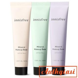 Kem lót Innisfree Mineral Makeup Base SPF30 PA+++ tác dụng 4in1 40ml