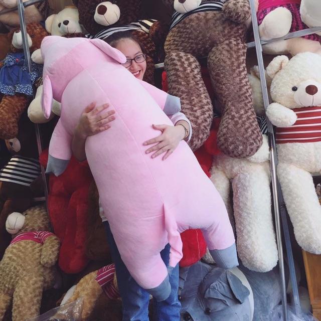 Lợn ngủ nhồi bông khổ 70cm