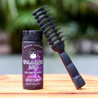 [CHÍNH HÃNG – BYVILAIN SHOP TPHCM] Bột tạo phồng tóc Volcanic Ash Styling Powder 25g + Tặng kèm lược chaoba tạo kiểu