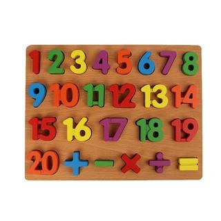 Bảng 20 số và phép tính