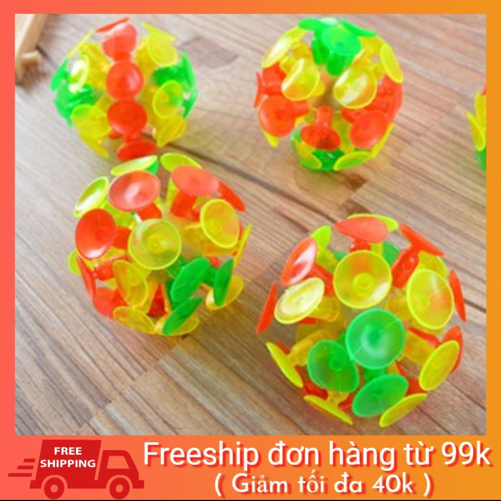 Combo 10 Bóng hít dính Sticky Ball vui nhộn cho bé hàng Việt Nam thumbnail