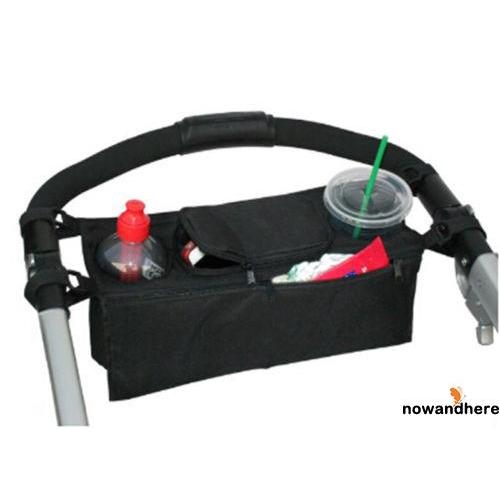 RDH-2018 Pratical Baby Cart Pram Hanging Bag Cup Holder Carry Bottles For Baby