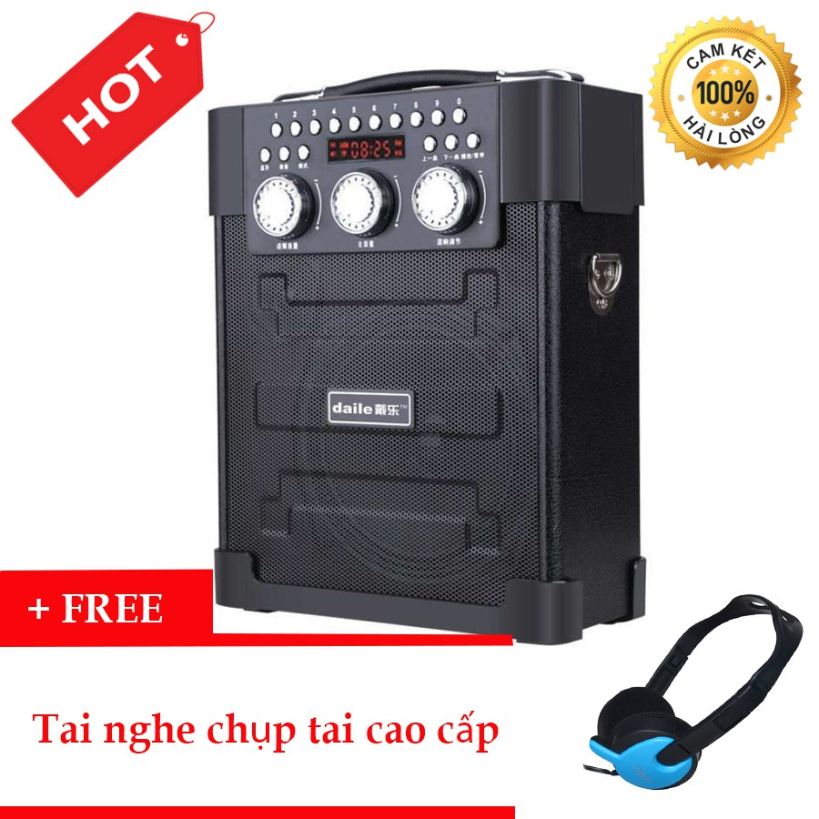 Loa kéo đa năng Bluetooth hát karaoke Daile S9 + Tặng Tai Nghe Chụp Tai Cao Cấp - 3425190 , 1258460466 , 322_1258460466 , 950000 , Loa-keo-da-nang-Bluetooth-hat-karaoke-Daile-S9-Tang-Tai-Nghe-Chup-Tai-Cao-Cap-322_1258460466 , shopee.vn , Loa kéo đa năng Bluetooth hát karaoke Daile S9 + Tặng Tai Nghe Chụp Tai Cao Cấp