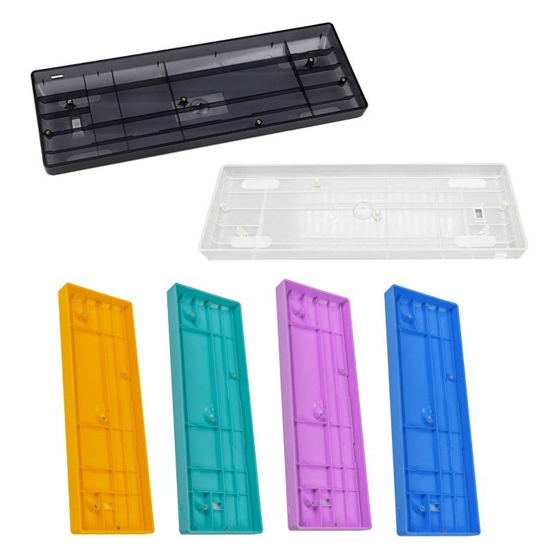 Vỏ Bàn Phím Cơ Bằng Nhựa 60% Nhỏ Gọn Siêu Bền Cho Bàn Phím Máy Tính Poker2 Pok3R Diy