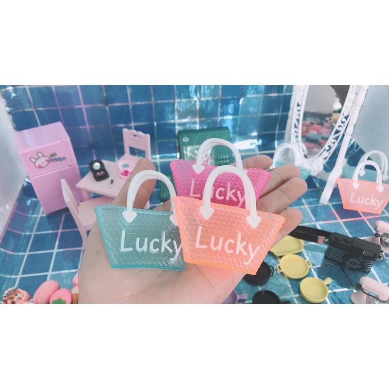 Túi nhựa Lucky nhiều màu cho búp bê