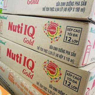 Thùng sữa Nuti IQ GOLD Nutifood 48x110ml