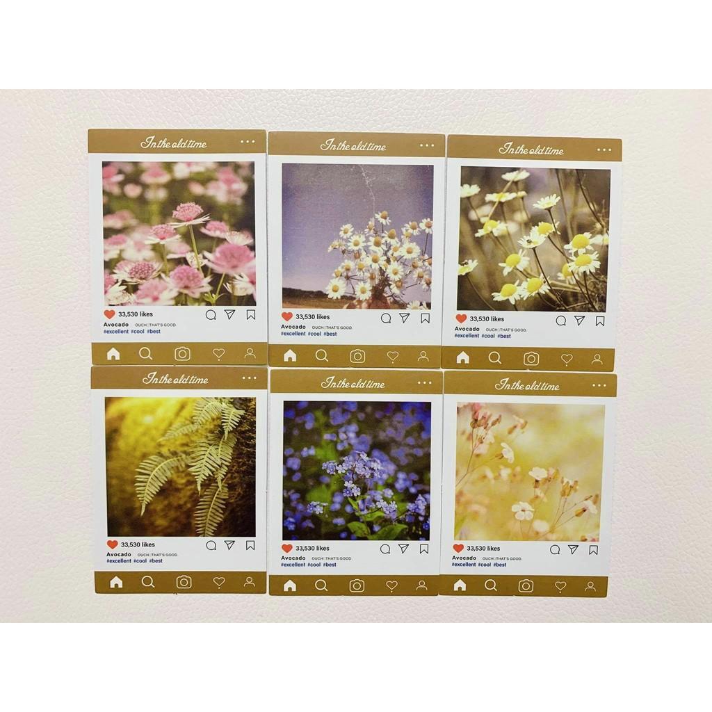 Set 30 Hình Dán Sticker Instagram - Hình Dán Trang Trí Sổ Tay Ốp Lưng Bullet Journal