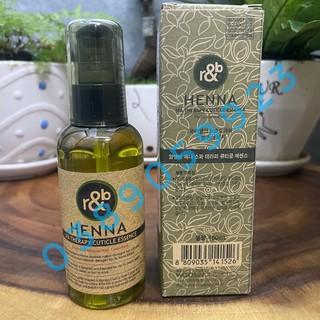 [Chính Hãng] Tinh dầu dưỡng tóc thảo dược R&B Henna 100ml thumbnail