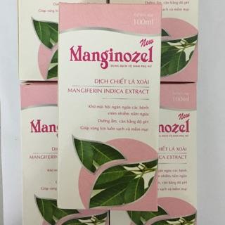Dung dịch vệ sinh phụ nữ Manginozel 100ml