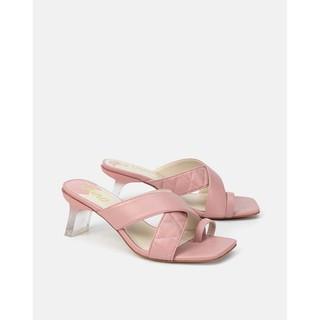 Giày Sandal Gót Trong Quai Chéo Xỏ Ngón Juno – SD07066