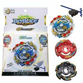 Beyblade Burst Battle B133 Gyroscope Kids Attack 3 Grro Caps Tops Gift Toys New