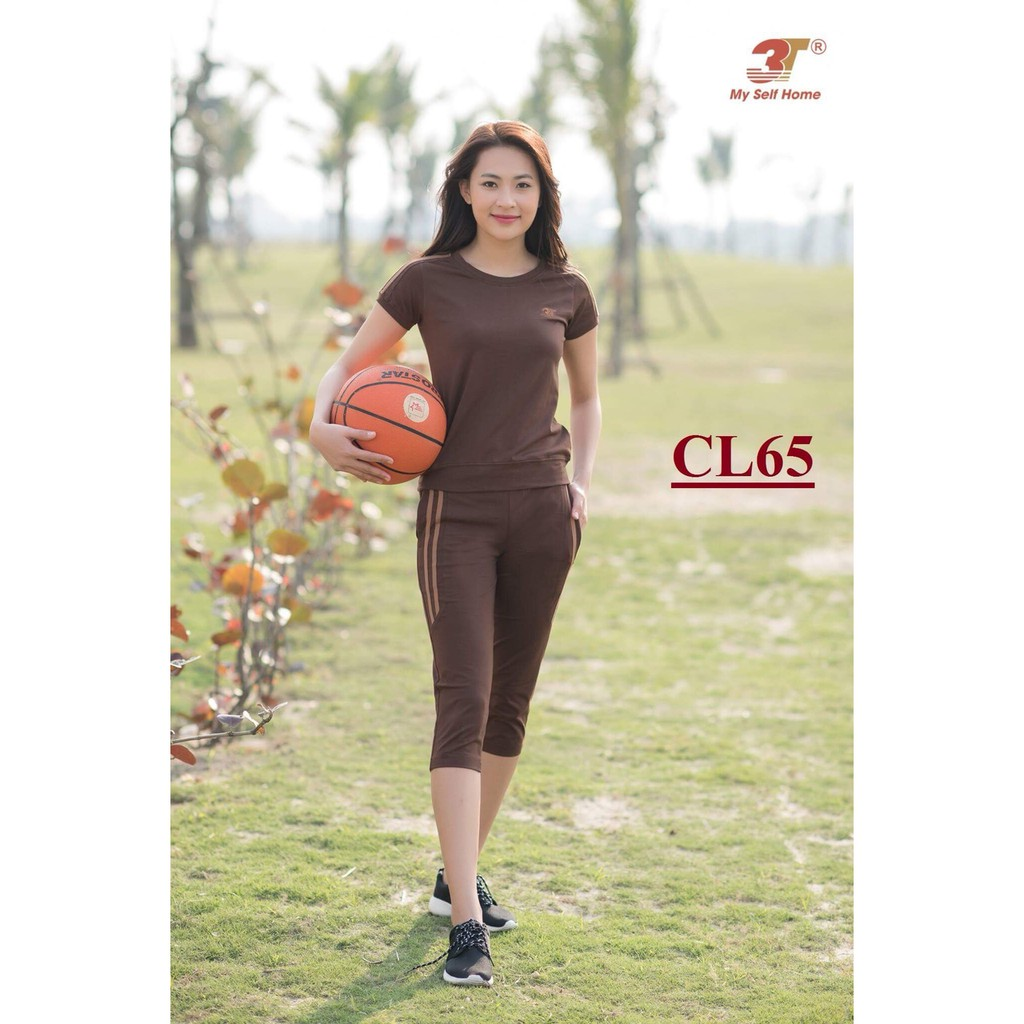 Đồ bộ mặc nhà 3T My Self Home - Bộ thể thao cotton áo cộc quần lửng CL65 - 2927076 , 955222043 , 322_955222043 , 355000 , Do-bo-mac-nha-3T-My-Self-Home-Bo-the-thao-cotton-ao-coc-quan-lung-CL65-322_955222043 , shopee.vn , Đồ bộ mặc nhà 3T My Self Home - Bộ thể thao cotton áo cộc quần lửng CL65