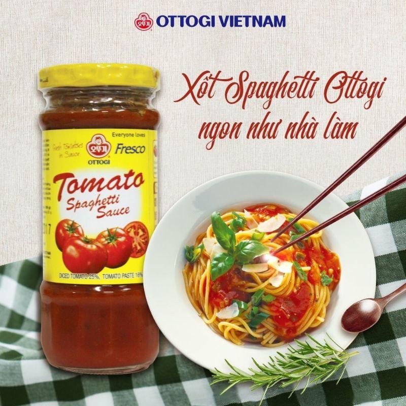 Sốt Spaghetti ottogi 220g (trộn bún mì ăn liền siêu ngon)